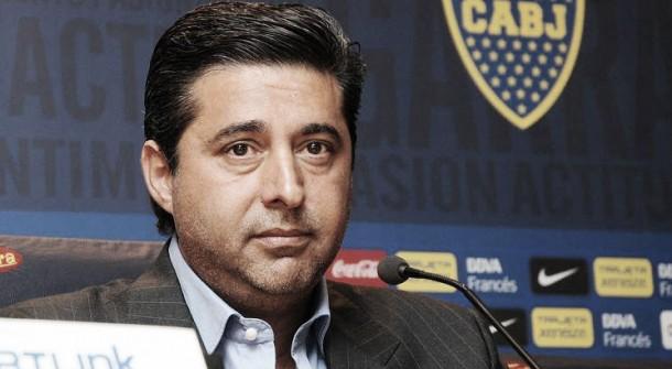 """Angelici: """"La llegada de Osvaldo es independiente de la salida de Calleri"""""""