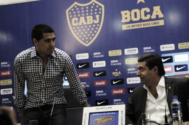 """Angelici: """"Las declaraciones de Román no suman, no le hace bien al club"""""""