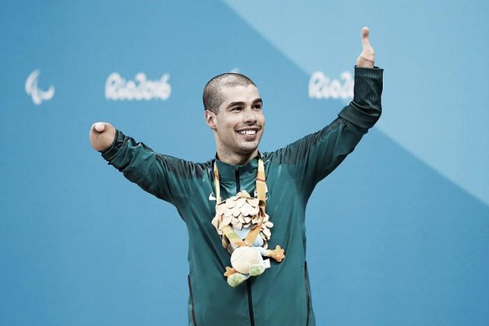 Natação dá mais quatro medalhas paralímpicas ao Brasil, com ouro para Daniel Dias