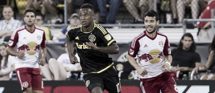 Kamara, Columbus Crew SC steal a point at home against New York Red Bulls with 1-1 draw