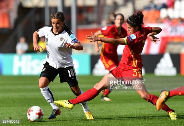 Euro 2017: Laura Feiersinger more than happy to run for her team