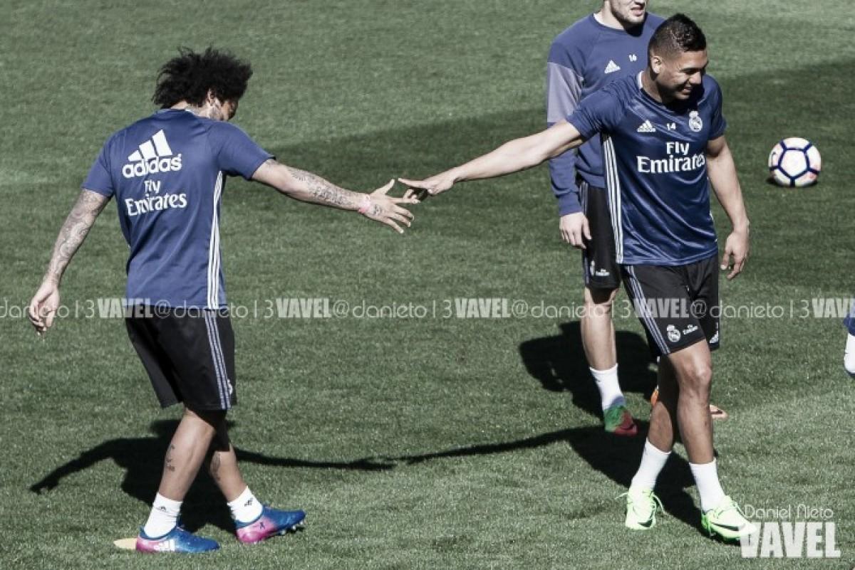 Marcelo y Casemiro, titulares en la victoria de Brasil