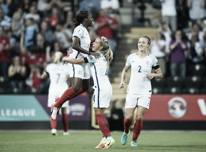 England 5-0 Estonia - Euro 2017 Qualifying: Lionesses roar to routine win
