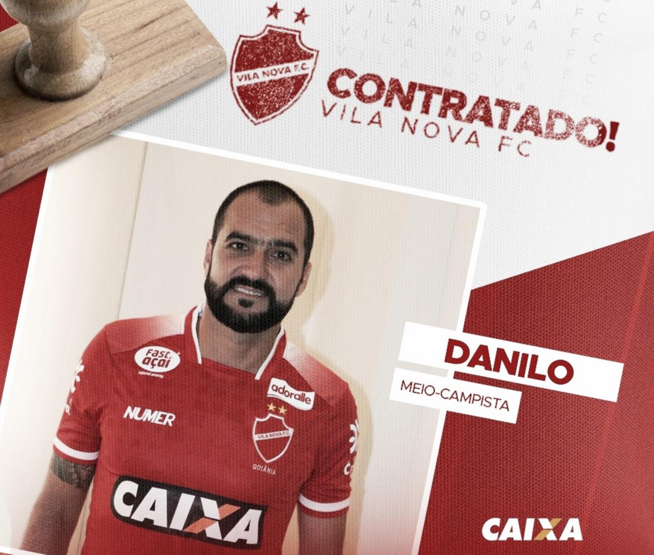 Presente de natal: multicampeão, meia Danilo é confirmado como reforço do Vila Nova