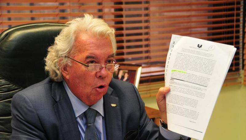 Danilo Carrera renuncia al Comité Olímpico Ecuatoriano