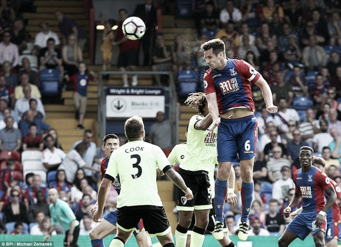 Crystal Palace 1-1 AFC Bournemouth: Dann rescues deserved draw at the death