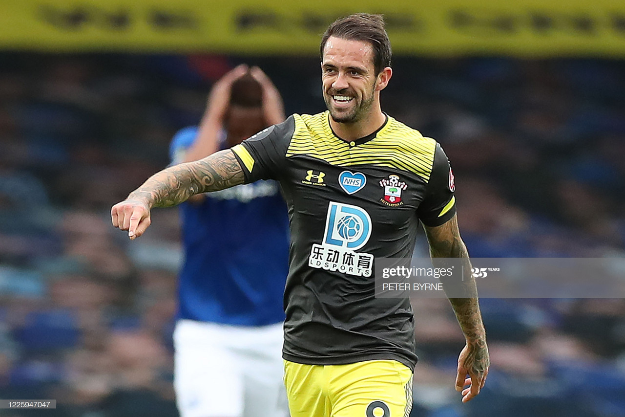 Everton 1-1 Southampton: Danny Ings continues goalscoring form at Goodison Park