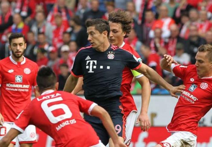 L'infrasettimanale di Bundesliga: il Bayern attende il Mainz, Dortmund a Darmstadt