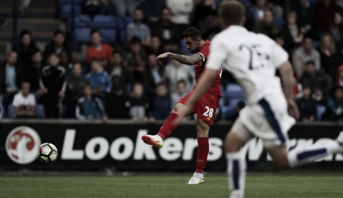 Tranmere Rovers 0-1 Liverpool: Ings' late strike hands Reds win in opening pre-season clash