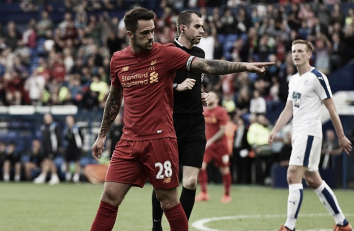 "Liverpool striker Danny Ings calls it ""a relief"" to score in Tranmere Rovers friendly after lengthy injury spell"