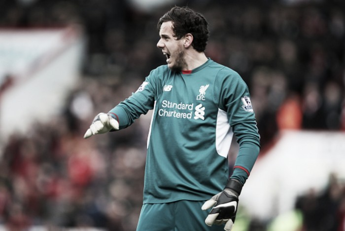 "Danny Ward ""disappointed"" not to keep clean sheet on Liverpool debut"