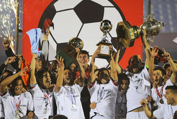 Danubio obtiene su cuarto Campeonato Uruguayo
