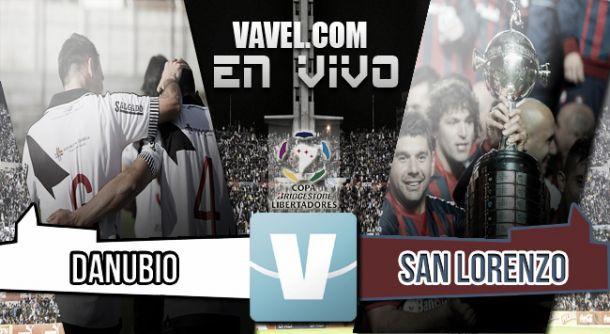 Resultado Danubio - San Lorenzo de Almagro (1-2)