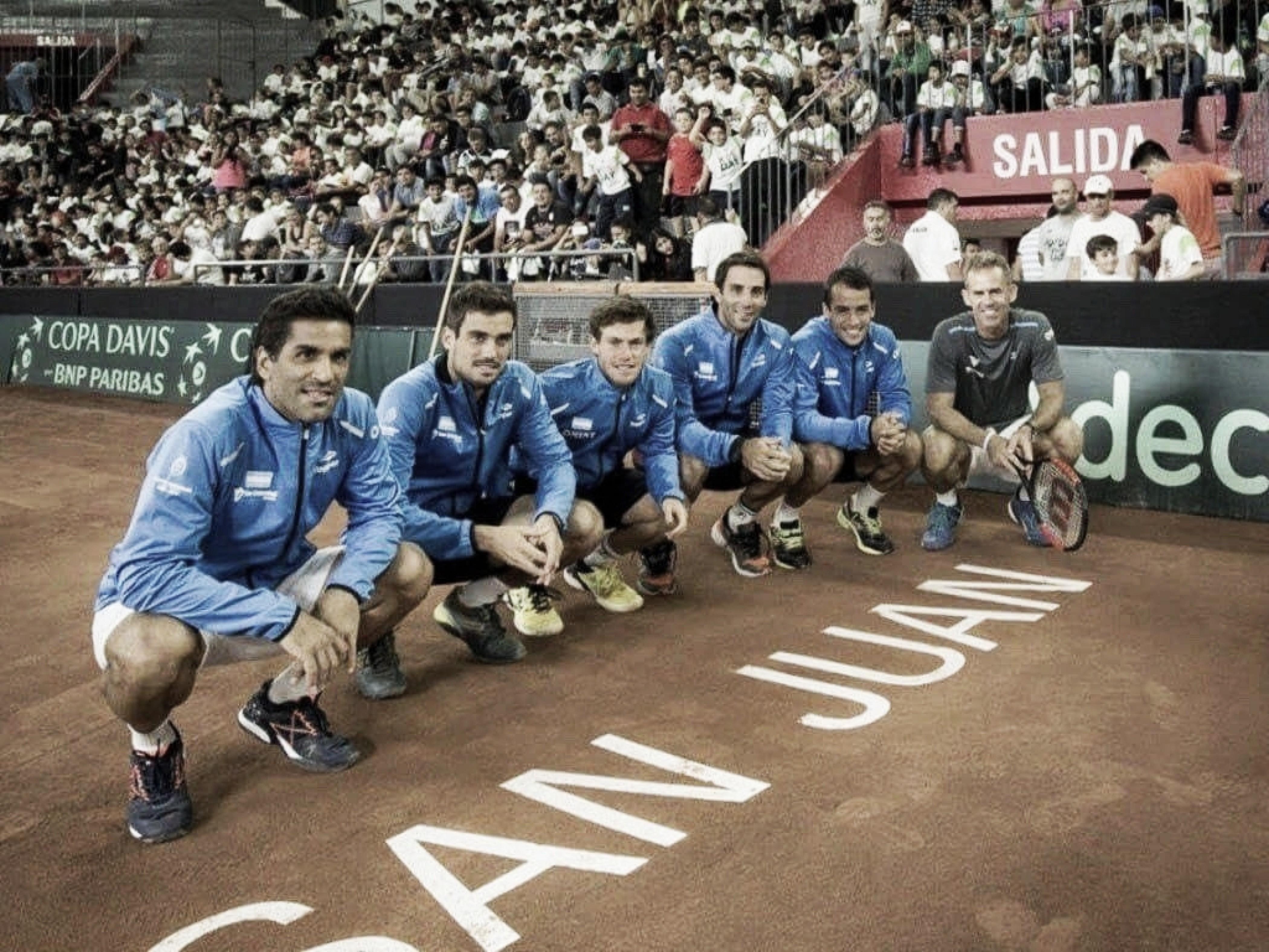 Copa Davis ARG-COL: cómo llega la Argentina