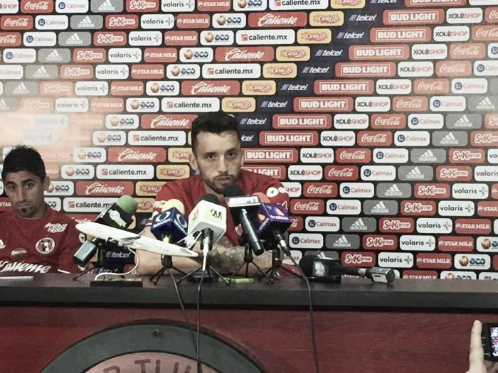 """Jorge Ortiz: """"Estoy muy contento de estar en Xolos"""""""