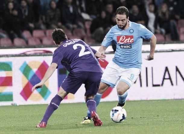 Live Napoli - Fiorentina in risultato partita Serie A (3-0)