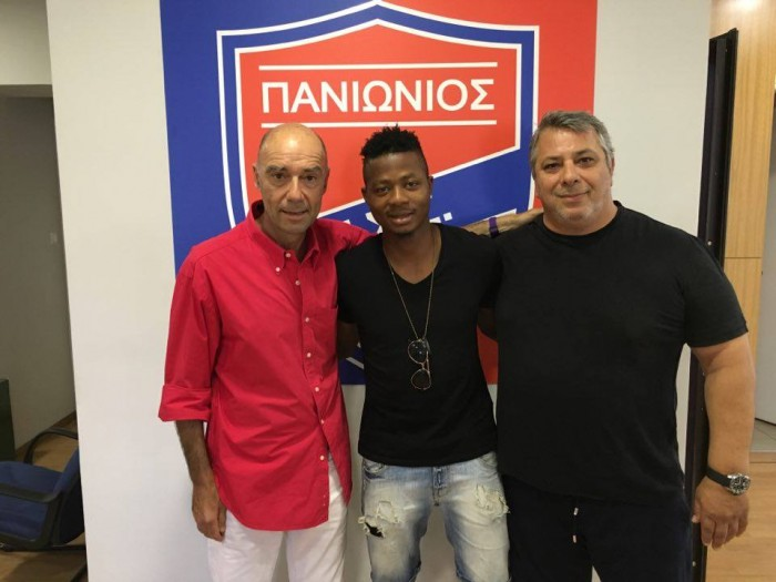 Michael Olaitan joins Greek side Panionios F.C.