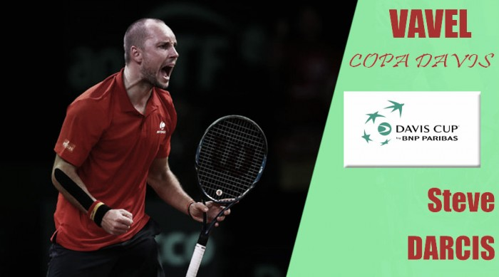 Copa Davis 2017. Steve Darcis: fiabilidad y entrega asegurada