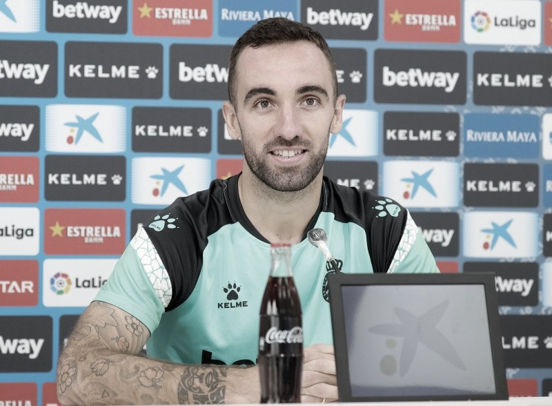 Darder en la rueda de prensa. Fotografía: RCD Espanyol S.A