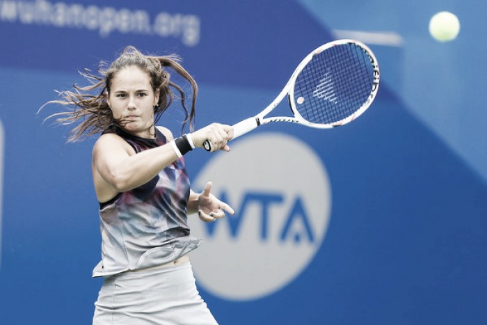 WTA Moscow: Daria Kasatkina marches into the final with win over Begu