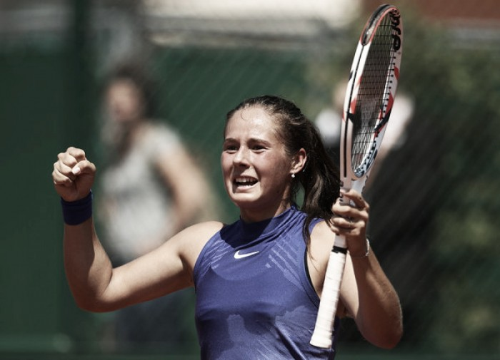 French Open: Daria Kasatkina ends qualifier Marketa Vondrousova's run