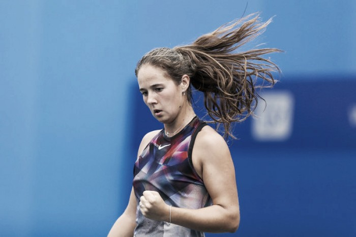 WTA Beijing: Daria Kasatkina marches into the second round with win over Natalia Vikhlyantseva