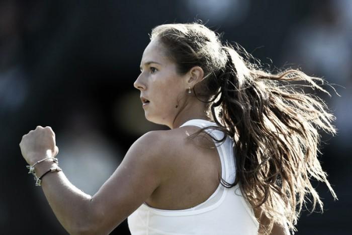 Wimbledon: Daria Kasatkina off to a great start