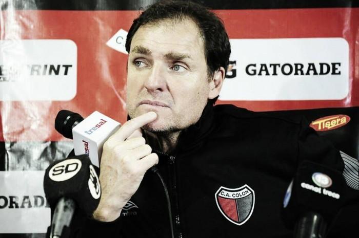 Darío Franco en conferencia de prensa tras el 2 a 2 ante Patronato