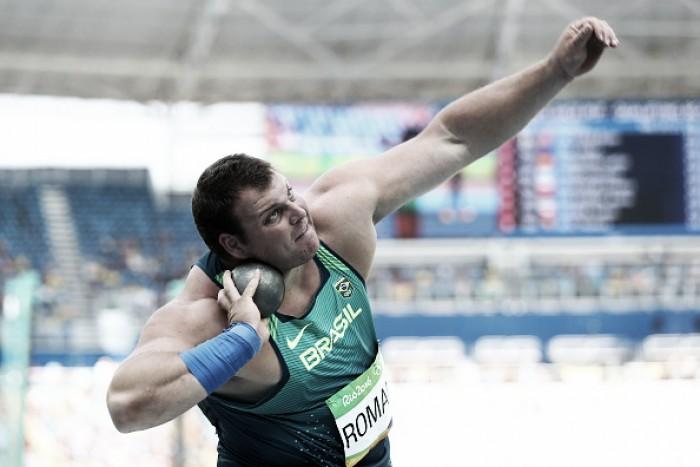 Darlan Romani quebra recorde nacional e avança à final do arremesso de peso