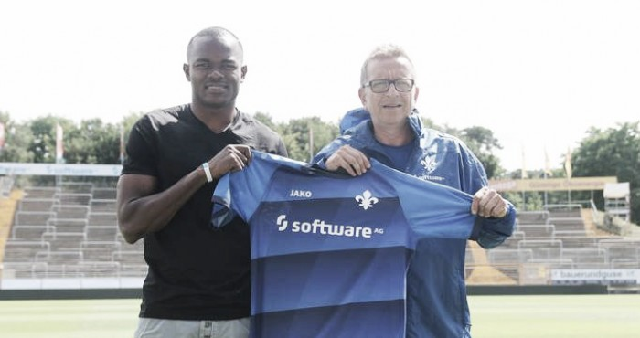 Nigerian forward Victor Obinna joins SV Darmstadt on a free transfer