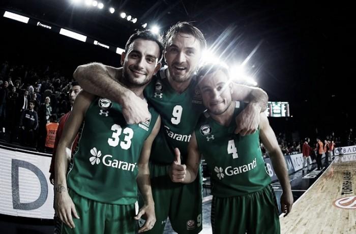 Eurolega: prima gioia Darussafaka, il Panathinaikos riapre i giochi