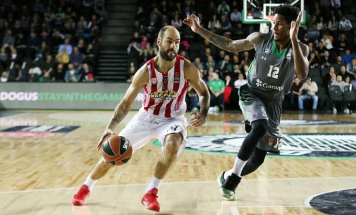 Eurolega - Olympiacos corsaro a Istanbul: il Darussafaka cede 71-77
