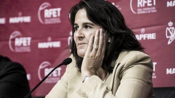 """Conchita Martínez: """"Lo más importante es la unión del grupo"""""""