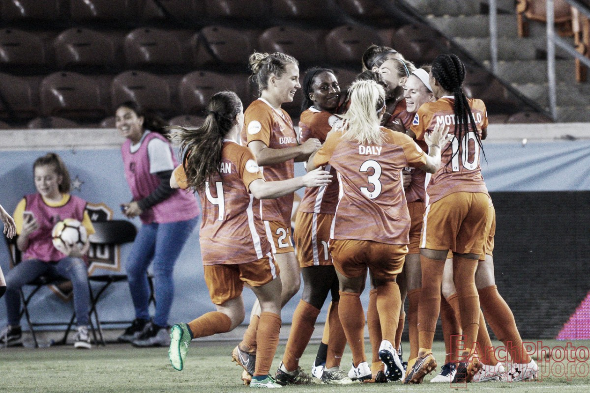 Sofia Huerta earns a brace as the Houston Dash dominate Washington Spirit