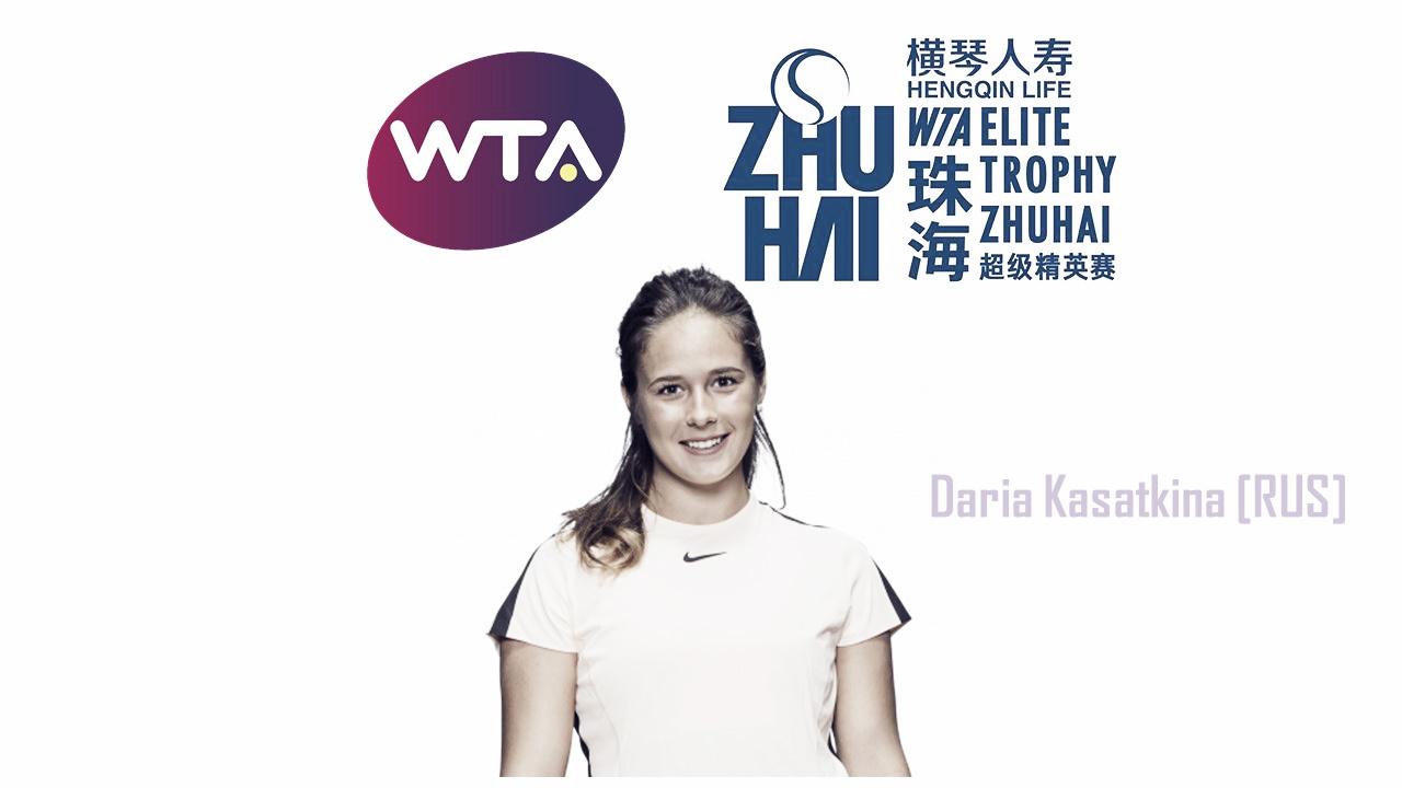 Daria Kasatkina qualifies for WTA Elite Trophy