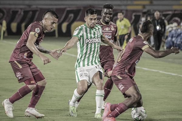 Los datos que dejó la derrota de Atlético Nacional frente al Deportes Tolima