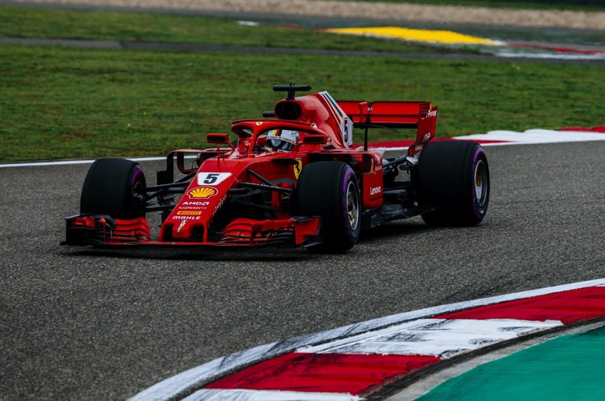 Formula 1 - Vettel e Raikkonen, doppietta in qualifica in Cina