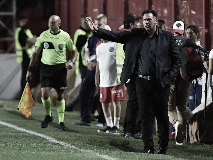 """Diego Dabove: """"Estoy enfocado y pensando en este club"""""""