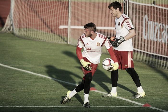 David de Gea enjoying rivalry for Spanish no.1 jersey