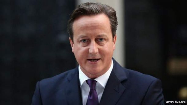 Cameron speaks of coming together for new United Kingdom