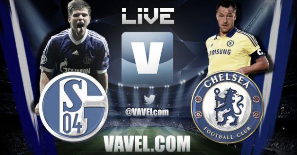 Resultado Schalke 04 - Chelsea en la Champions League (0-5)