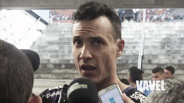 """David González: """" Me sentí cómodo, con mucha seguridad"""""""