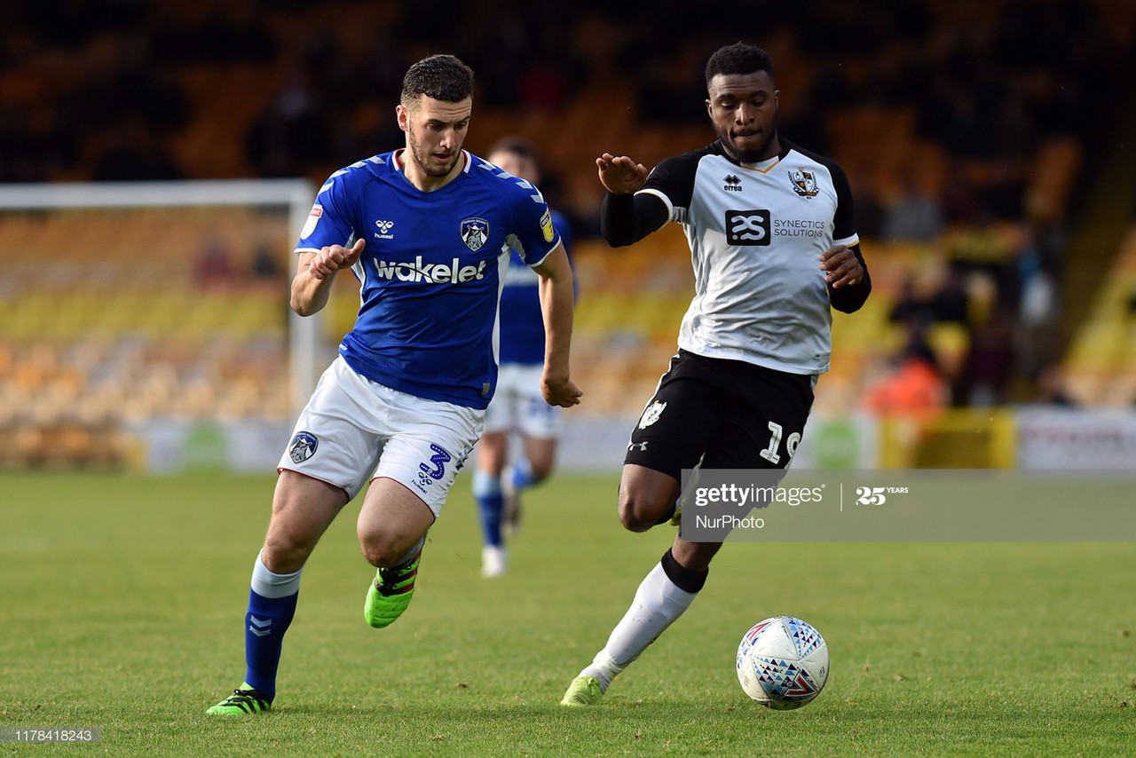 The importance of David Amoo for Port Vale's play-off push