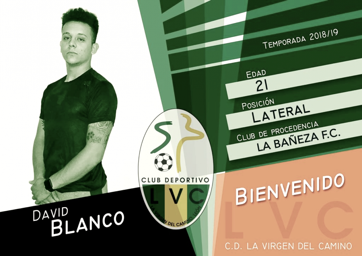 David Blanco es nuevo jugador de La Virgen del Camino
