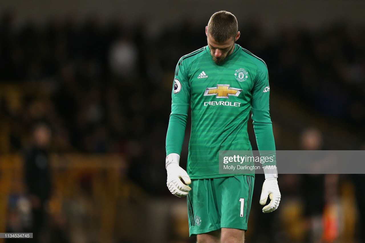 Report: Man United set goalkeeper targets as fears over De Gea's future grow