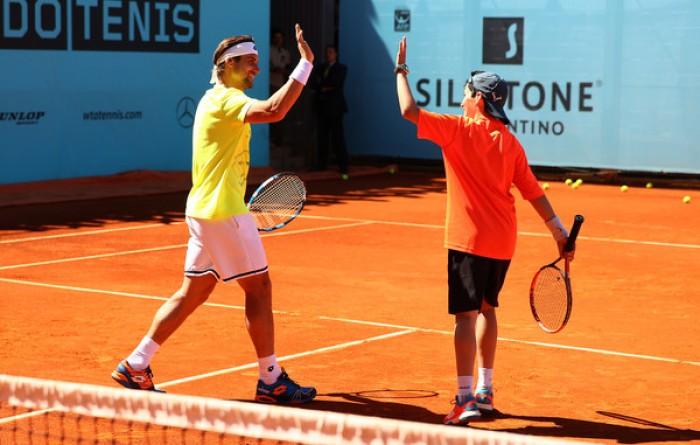 Mutua Madrid Open - Il programma maschile: Ferrer - Garcia Lopez, Raonic con Bellucci
