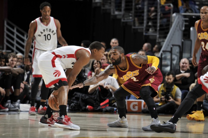 Led by Channing Frye, LeBron James down the stretch, Cleveland Cavaliers topple Toronto Raptors 121-117