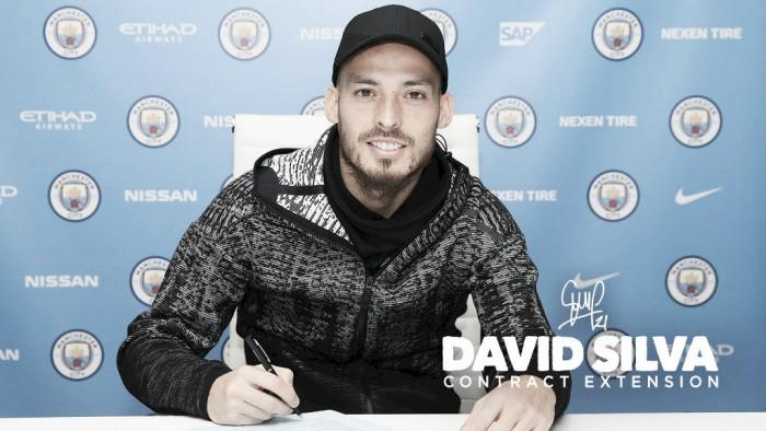 David Silva renova com Manchester City e ficará na equipe até 2020