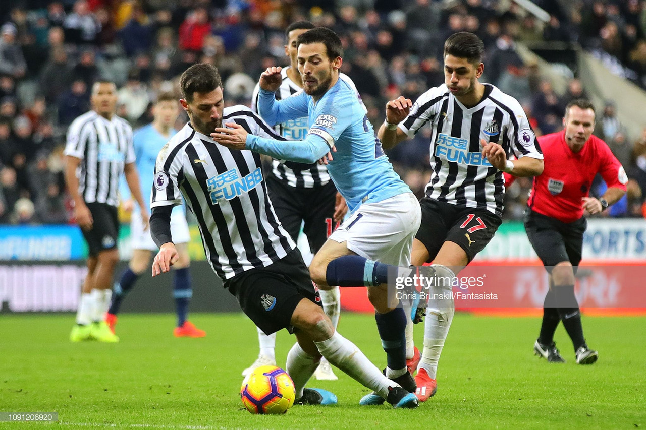 Newcastle United 2-2 Manchester City as it happened: Magpies come from behind twice to further dent City's title challenge