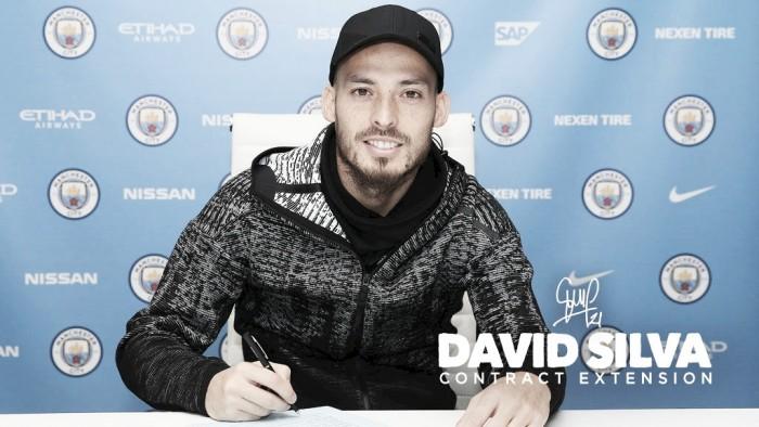 David Silva renueva su contrato con el Manchester City